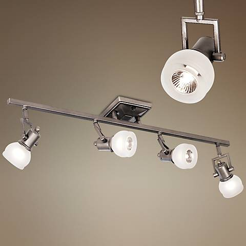Pro Track® Chace Pewter 4-Light Track Fixture