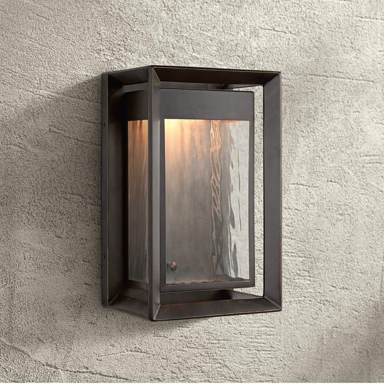 "Feiss Urbandale 13""H Antique Bronze LED Outdoor Wall"