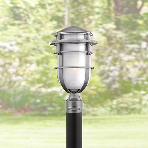 "Hinkley Reef Collection 16"" High Outdoor Post Light"