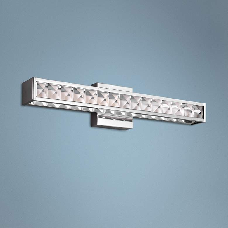 "Feiss Jessie 23 1/2"" Wide Chrome LED Bath"