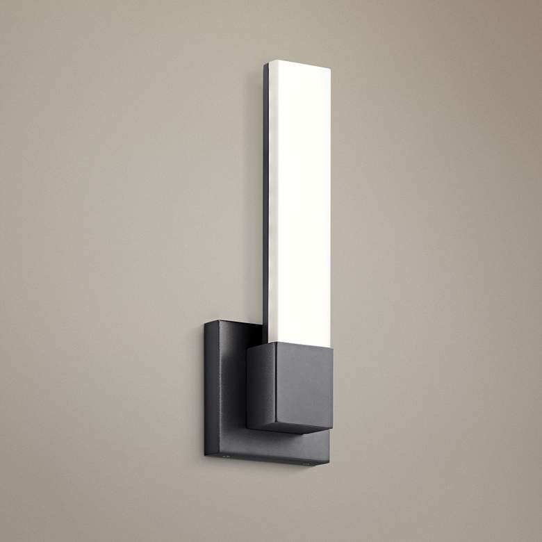"Elan Neltev™ 14 1/2"" High Bronze 2-LED Wall"