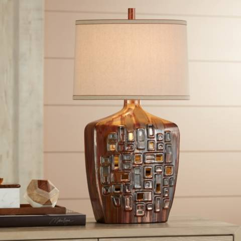 Buy Possini Euro Magnum French Bronze Led Desk Lamp Shop Every