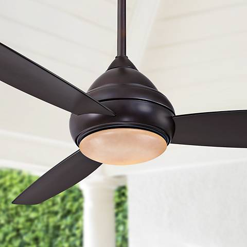 "58"" Concept I Bronze Wet-Rated LED Ceiling Fan"