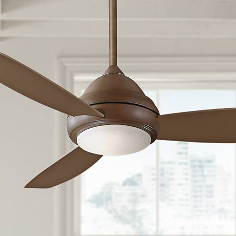 "44"" Concept I Oil-Rubbed Bronze LED Ceiling Fan"