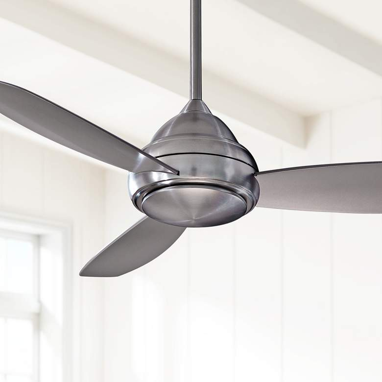 "44"" Concept I Brushed Nickel LED Ceiling Fan"