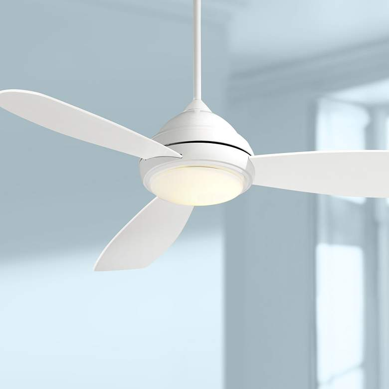 "52"" Concept I White LED Ceiling Fan"
