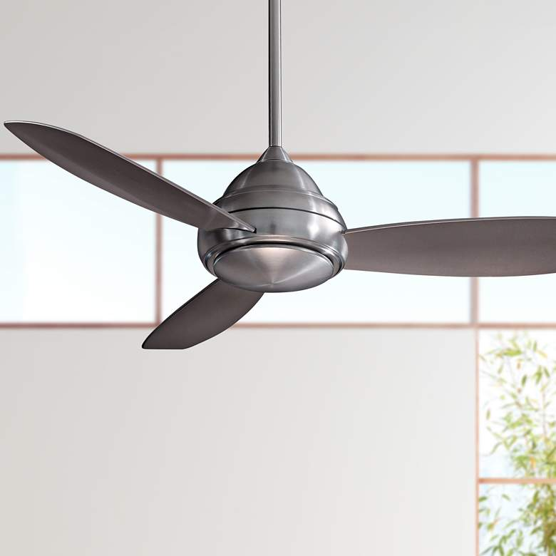 "52"" Concept I Brushed Nickel LED Ceiling Fan"