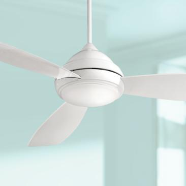 "44"" Concept I White LED Ceiling Fan"