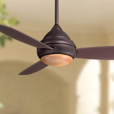 "52"" Concept I Bronze Wet-Rated LED Ceiling Fan"