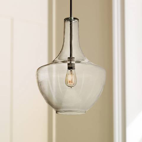 Kichler Everly Olde Bronze 13 3 4 Wide Gl Pendant