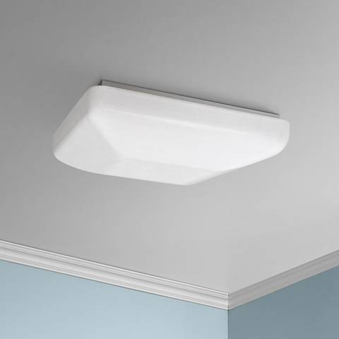 "Quadratum Flushmount 19 1/2"" Wide White LED Ceiling Light"