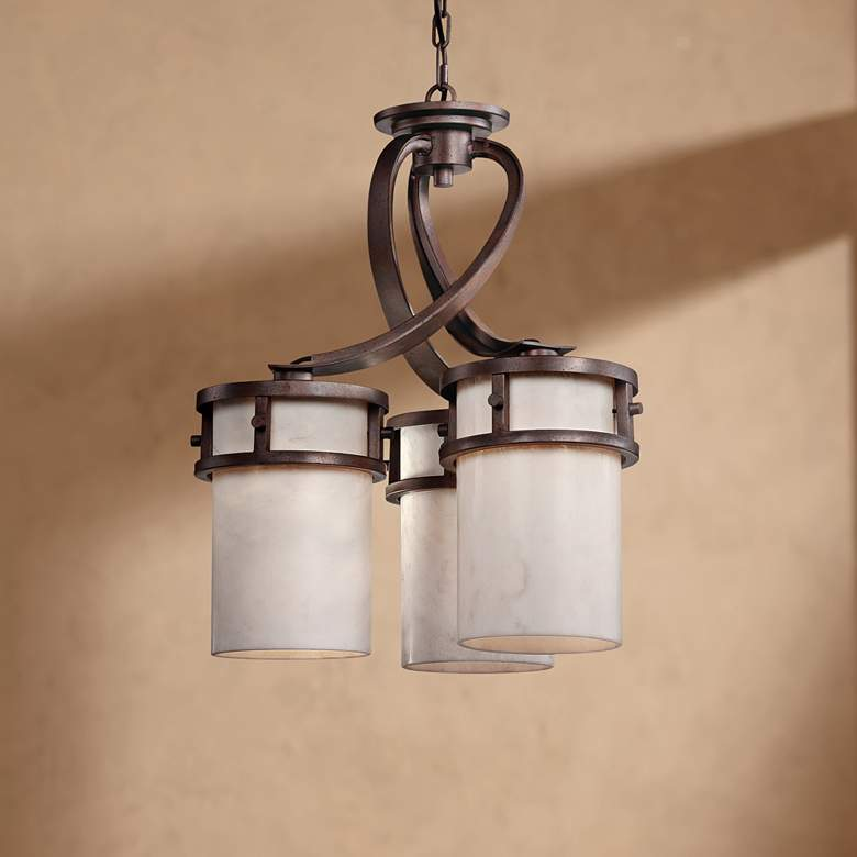 "Kyle 3-Light 20"" Wide Pendant Chandelier"