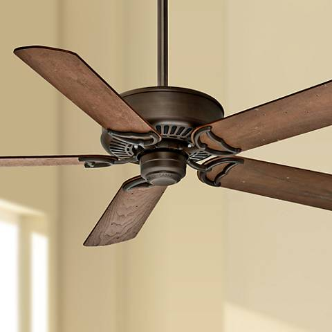 "54"" Casablanca Panama DC Cocoa Energy Star Ceiling Fan"