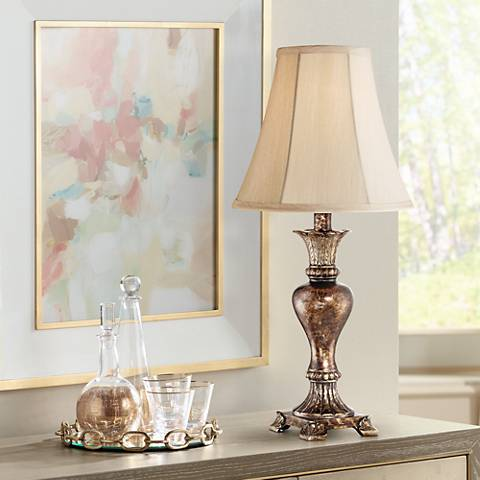 Xavier Bronze Urn Table Lamp