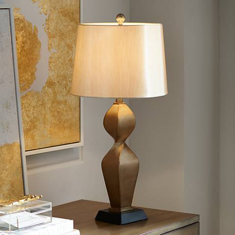 Helen Gold Twist Table Lamp