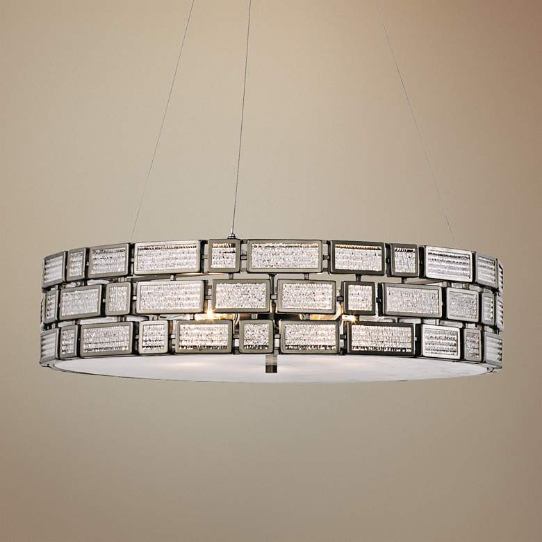 "Varaluz Harlowe 24"" Wide New Bronze Pendant Light"