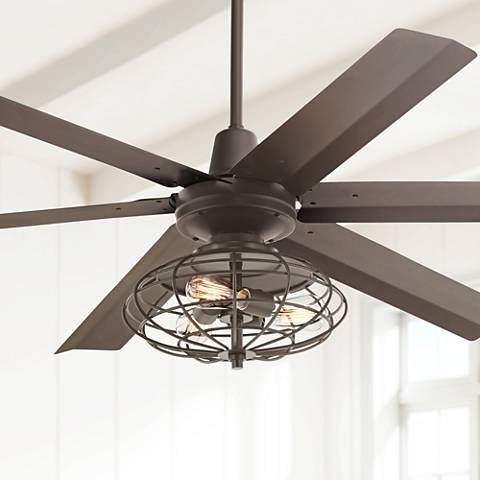 "60"" Turbina Max™ Nostalgic Bronze Ceiling Fan"