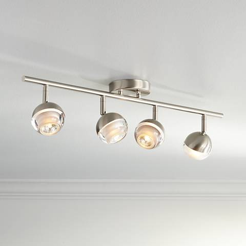 ProTrack Flex 4-Light Satin Chrome Track Fixture