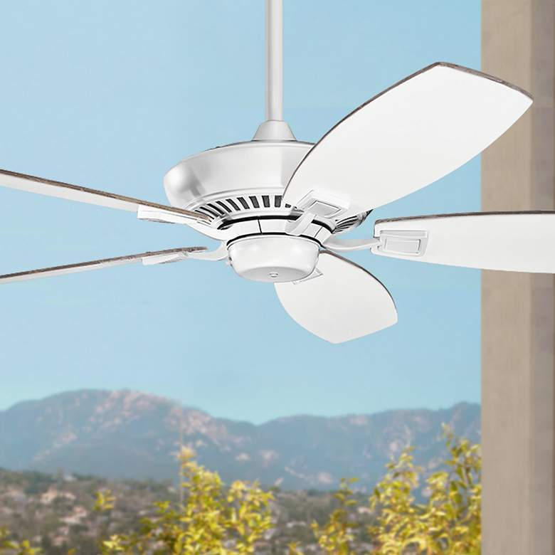 "52"" Kichler Canfield Matte White Ceiling Fan"