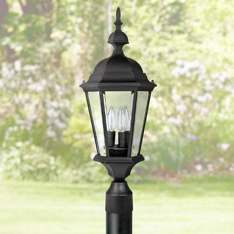 "Capital Carriage House 24""High Black Outdoor Post Light"