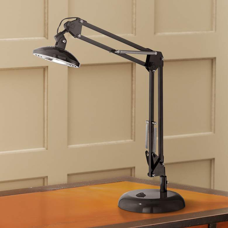 Garrett Black LED Architect Task Lamp
