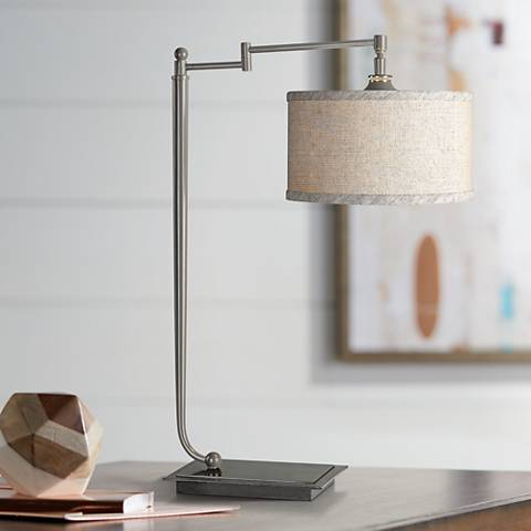 Uttermost Lamine Iron Desk Lamp