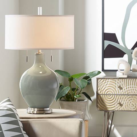 Gauntlet Gray Toby Table Lamp