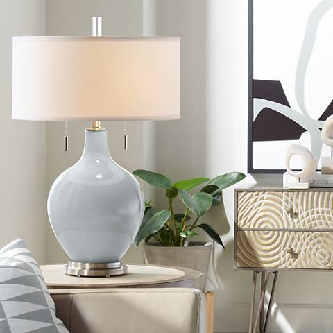Uncertain Gray Toby Table Lamp