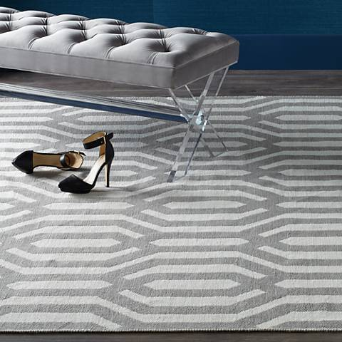 Kaleen Brisa BRI08-75A Gray and White Area Rug