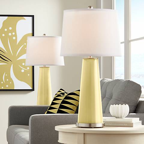 Butter Up Leo Table Lamp Set of 2