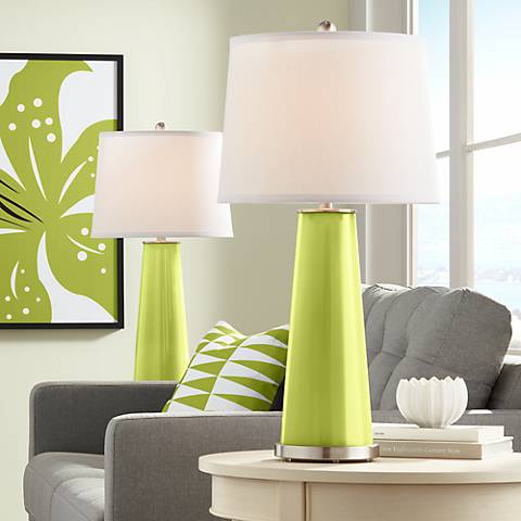 Parakeet Leo Table Lamp Set of 2