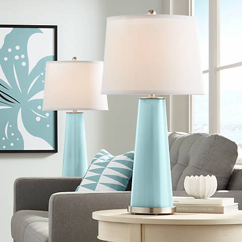 Raindrop Leo Table Lamp Set of 2