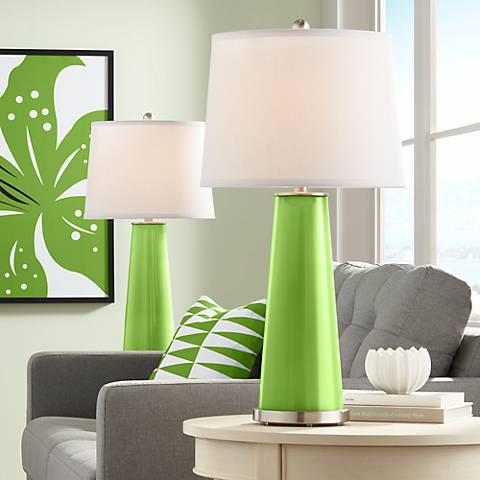 Rosemary Green Leo Table Lamp Set of 2