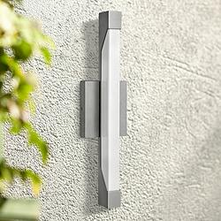 "Hinkley Vista 18 3/4""H LED Titanium Outdoor Wall Light"