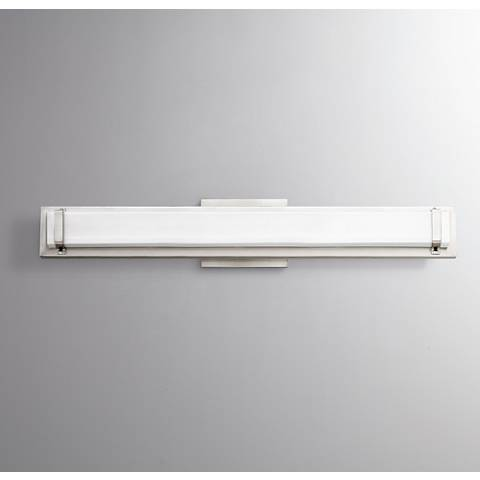 "Hinkley Tremont 29 1/2""W Polished Nickel 2-LED Bath Light"