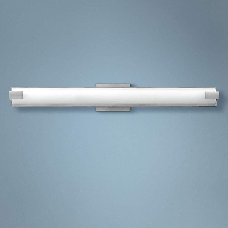 "Hinkley Unity 29 1/2""W Brushed Nickel 2-LED Bath"