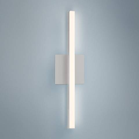 "Sonneman Stix 17 1/4"" High Satin Aluminum LED Wall Sconce"