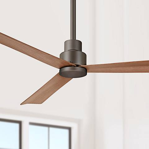 "52"" Minka Aire Simple Oil Rubbed Bronze Ceiling Fan"
