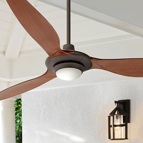 "60"" Triaire™ Oil-Rubbed Bronze LED Ceiling Fan"