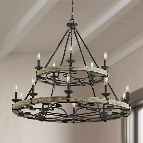 light circolo chandeliers brushed product nickel ceiling lighting kichler chandelier inch