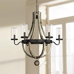 "Savoy House Eden 29"" Wide Weathervane Outdoor Chandelier"