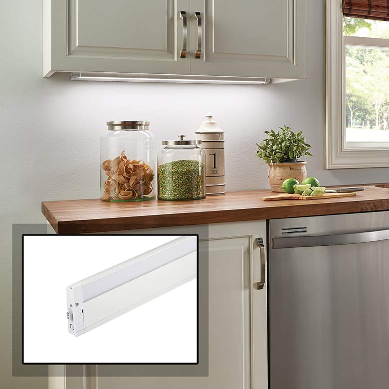 Kichler 4u Textured White 22 Wide Led Under Cabinet Light