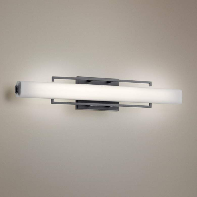 "Elan Perov Bronze 25 1/4"" Wide Linear LED"
