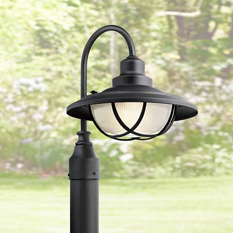 Kichler harvest ridge 15 34h black outdoor post light 1y074 kichler harvest ridge 15 34h black outdoor post light mozeypictures Image collections