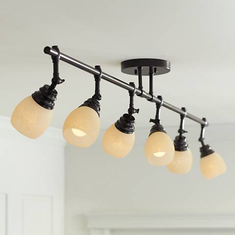 Pro Track® Elm Park Collection Bronze 6-Light Fixture