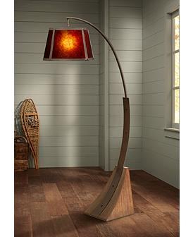 Wood Floor Lamps Plus