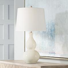 Ivory Ceramic Table Lamp Table Design Ideas