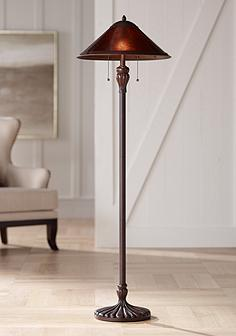 Floor lamps on sale best prices selection lamps plus capistrano mica shade floor lamp aloadofball Gallery