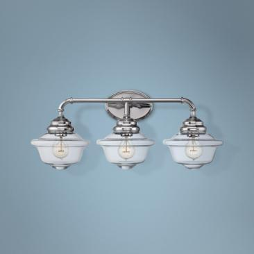 "Savoy House Fairfield 26""W 3-Light Chrome Bath Light"