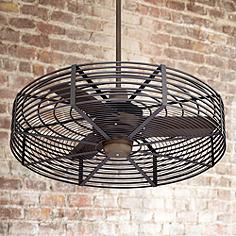 Industrial ceiling fans lamps plus 32 aloadofball Gallery